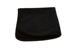Premium Black Microfiber Cloths