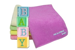 Absorbent Microfiber Towels for Baby