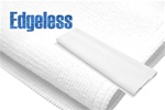 Edgeless Microfiber Polishing Cloth White