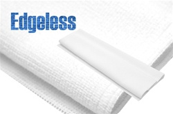 White Edgeless Microfiber
