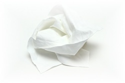 Thin Microfiber Cloths Bulk Wholesale White