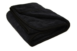 Black Microfiber Drying Towels for Cars