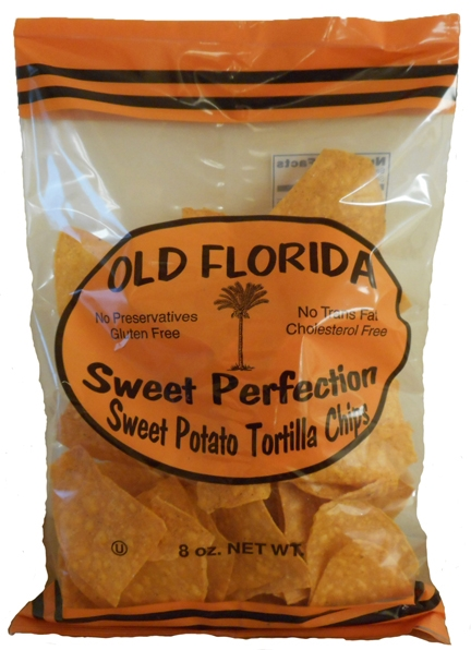 Sweet Perfection Sweet Potato Tortilla Chips 8oz.