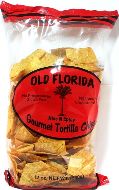 Nice N Spicy Tortilla Chips 12oz.