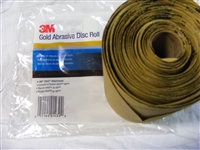 "3M Gold Stikit Disc 6"" P100 125/roll"
