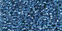 Miyuki 10/0 Triangle Beads 10 Grams 10TR1831 ICL Lt. Blue/Midnight Blue