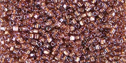 Miyuki 10/0 Triangle Beads 10 Grams 10TR1838 ICL* Lt. Rose/Copper