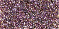 Miyuki 10/0 Triangle Beads 10 Grams 10TR1839 ICL Gold/Amethyst