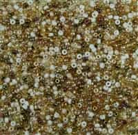 Miyuki 11/0 Seed Bead Mix 24 Grams Honey Butter