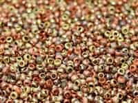 11/0 11CZ00030-98582 Crystal Etched California Gold Rush Seed Beads 10 Grams