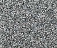 11/0 11CZ131-98530 Crystal Silver Rainbow Czech Seed Beads - 10 Grams