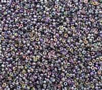 11/0 11CZ55015 Magic Purple Czech Coating on Miyuki Rocailles 10 Grams
