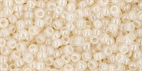 11/0 Toho 11TO147 Round Ceylon Light Ivory - 10 Grams