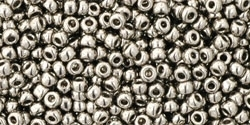 11/0 Toho 11TO711 Round Nickel - 10 Grams