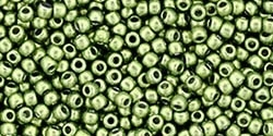 11/0 Toho 11TOYPS0083 Round Hybrid ColorTrends: Metallic Greenery - 10 Grams