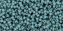 15/0 Toho 15TO2604F Round Semi Glazed - Turquoise - 10 Grams