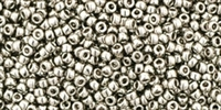 15/0 Toho 15TO711 Round Nickel - 10 Grams