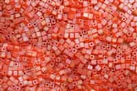 Miyuki Square 4MM Beads 4SB138FR TR MA Orange
