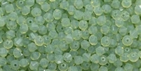 532804CHRYOP - 4mm Swarovski Crystal Chrysolite Opal Bicone Crystals 25 count