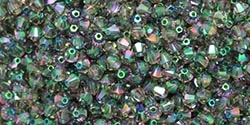 532804PARS2 - 4mm Swarovski Crystal Paradise Shine 2X Bicone Crystals 25 count