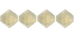 532804SNDOP - 4mm Swarovski Crystal  Sand Opal Bicone Crystals 25 count