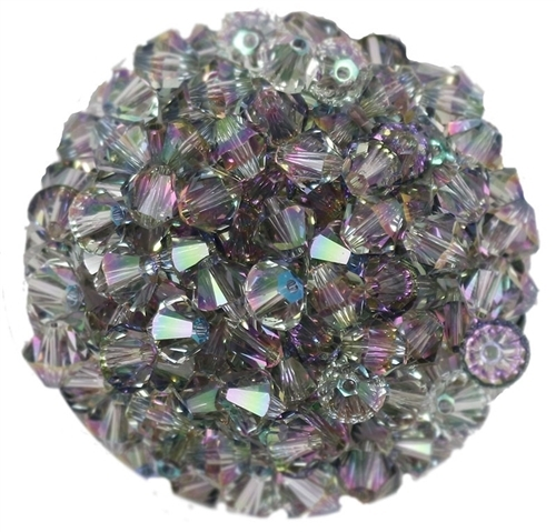 532806CPS - 6mm Swarovski Bicone Crystals - Crystal Paradise Shine - 25 count