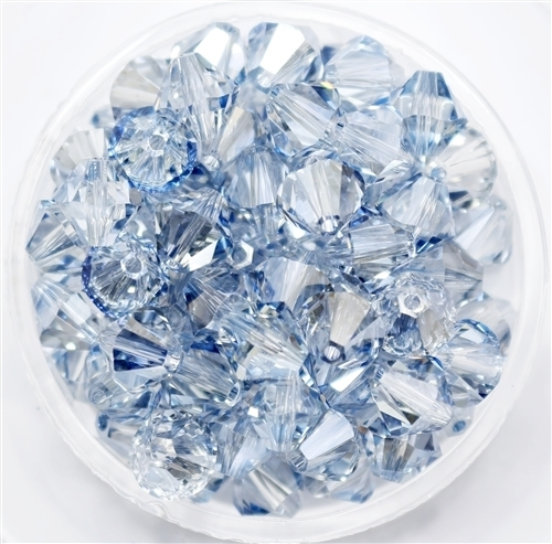 532808BLUSHA - 8mm Swarovski Crystal Blue Shade - 1 count