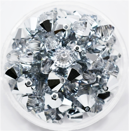 532808COMARGLT - 8mm Swarovski Crystal Comet Argent Light - 1 count