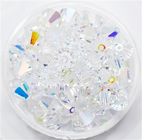 532808CRYAB - 8mm Swarovski Crystal AB - 1 count