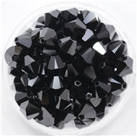 532808JET - 8mm Swarovski Crystal Jet - 1 count