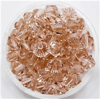 532808VINRO - 8mm Swarovski Crystal Vintage Rose - 1 count