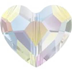 574112CRYSAB - 12mm Swarovski Crystal Love Crystal - Crystal AB - 1 count