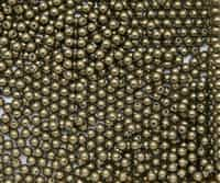 3mm Swarovski Crystal  Antique Brass Pearls - 50 count