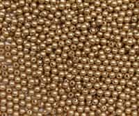 3mm Swarovski Crystal Vintage Gold Pearls - 50 count
