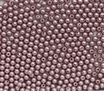 581003PWDROS - 3mm Swarovski Crystal Powder Rose Pearls - 50 count