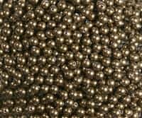 4mm Swarovski Crystal Antique Brass Pearls