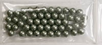 4mm Swarovski Crystal Powder Green Pearls