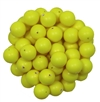 581008CNY - 8mm Swarovski Crystal Neon Yellow Pearls - 1 Count