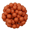 581008COR - 8mm Swarovski Crystal Coral Pearls - 1 Count