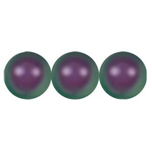 581010IP - 10mm Swarovski Crystal Iridescent Purple Pearls - 1 Count