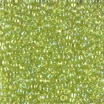 Miyuki Rocaille 8/0 Seed Beads 10 Grams 8RR258 TR Lime Green