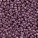 Miyuki Rocaille 8/0 Seed Beads 10 Grams Duracoat 8RR4220 Eggplant