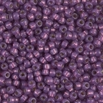 Miyuki Rocaille 8/0 Seed Beads 8RR4248 Duracoat Silver Lined Light Amethyst Miyuki Rocailles 10 Grams
