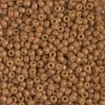 Miyuki Rocaille 8/0 Seed Beads 8RR4457 - Duracoat Opaque Dyed Rocailles - Fawn - 10 Grams