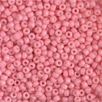 Miyuki Rocaille 8/0 Seed Beads 8RR4463 - Duracoat Opaque Dyed Rocailles - Pink Lemonade - 10 Grams