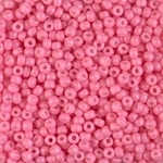 Miyuki Rocaille 8/0 Seed Beads 8RR4467 - Duracoat Opaque Dyed Rocailles - Bubble Gum Pink - 10 Grams