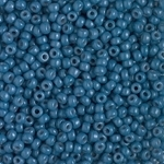 Miyuki Rocaille 8/0 Seed Beads 8RR4485 - Duracoat Opaque Dyed Rocailles - Dark Imperial Blue - 10 Grams