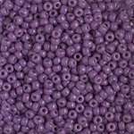 Miyuki Rocaille 8/0 Seed Beads 8RR4490 - Duracoat Opaque Dyed Rocailles - Dark Orchid - 10 Grams