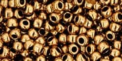 Toho 8/0 Round 8TO221 - Bronze Seed Beads - 10 Grams