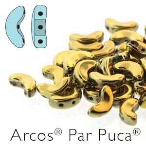 Arcos par Puca : ARC510-00030-26440 - Full Dorado - 25 Beads